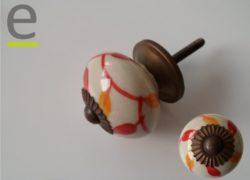 pomelli colorati, pomello in ceramica, pomello colorato, pomelli per mobili, pomelli per porte, pomelli shabby chic