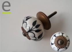 Pomelli di ceramica prodotti e decorati a mano oltre 140 modelli diversi - Pomelli per mobili cucina ...