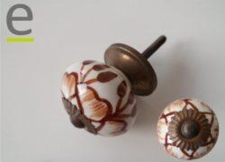 pomello di ceramica, pomelli colorati, pomelli per porte, pomelli shabby chic