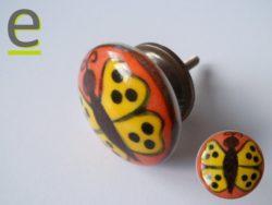 pomello in ceramica, pomelli colorati, pomelli per cucina, pomelli per mobili