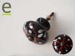 pomelli neri, pomelli shabby chic, pomelli porte, pomelli ceramica, pomoli colorati
