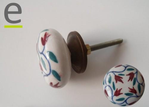 maniglie e pomelli, pomelli ceramica decorati, pomelli per porte, pomelli armadio