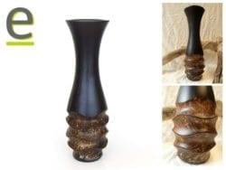 vaso in legno, vaso, vasi di legno