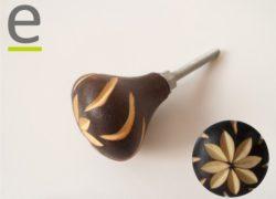 pomelli in legno, Pomelli per Budsudan, pomelli in legno, pomelli decorati, pomelli colorati