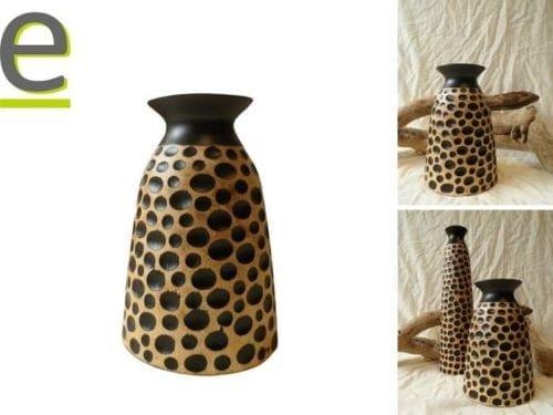 vaso di legno