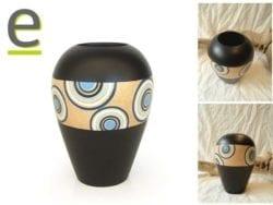 vasi di legno, vaso, vasi