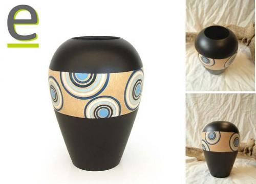 vasi di legno di mango, vaso, vasi