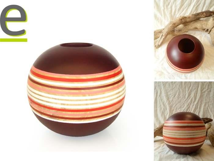 Vasi di legno di mango belli ed originali fatti a mano for Vasi di legno