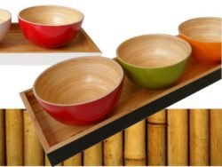 vassoio bambù