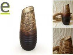 vaso di legno, vaso di legno