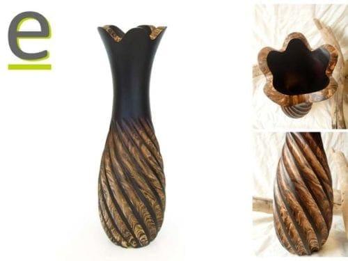 vasi in legno, vaso, vasi