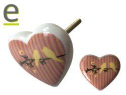 pomelli a cuore, pomello a cuore, pomelli a forma di cuore