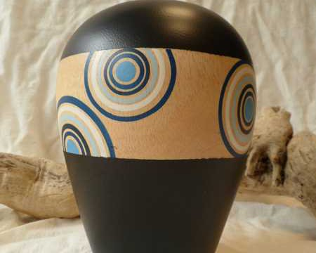 vasi di legno, vaso di legno