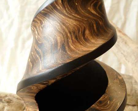 vasi di legno, vaso di arredo, vaso ornamentale