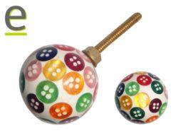 pomelli colorati, pomelli rotondi, pomelli con decorazioni