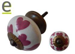 pomelli decorativi , pomello cuore