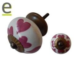 pomelli decorativi , pomello cuore, pomelli per mobili, pomello per mobili