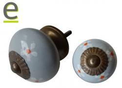 pomello grigio, pomello di ceramica