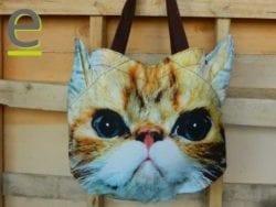 borsetta, borsa, borsa con gatto