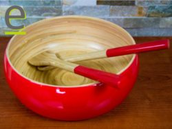 insalatiera di bambù