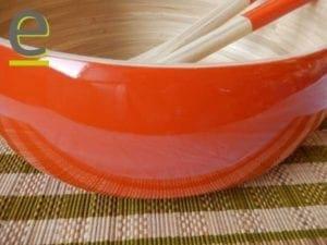 insalatiera con posate, set insalata bambù, bambù, bamboo