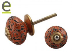 Pomelli Vintage in Ceramica per Mobili e Cassetti