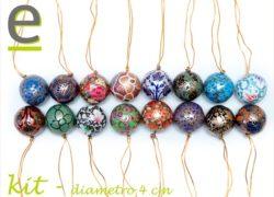 palline per albero di natale, kit palline albero di natale