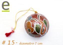Palline Albero di Natale artigianali, Palline per Albero di Natale