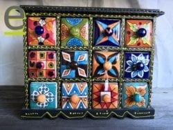 porta spezie, portaspezie legno, portaspezie indiano, portaspezie di ceramica
