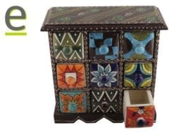 portaspezie legno, portaspezie indiano, portaspezie di ceramica