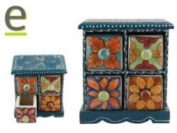 Postaspezie di Ceramica, portaspezie, portaspezie indiano