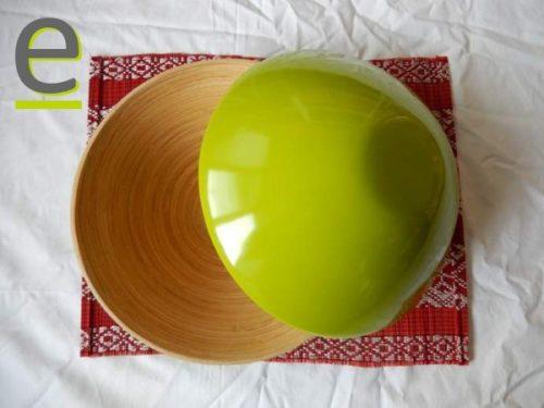 coppia di ciotole, bambù
