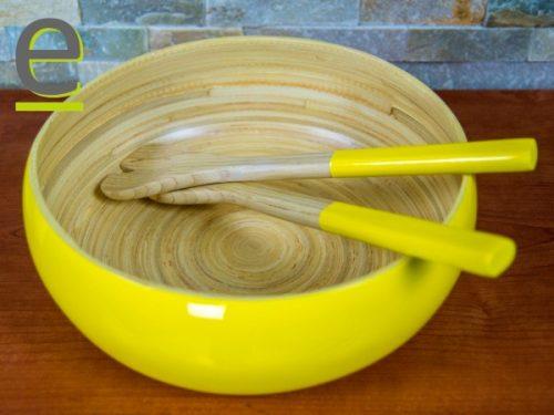 insalatiera di bambù, scodella bambù